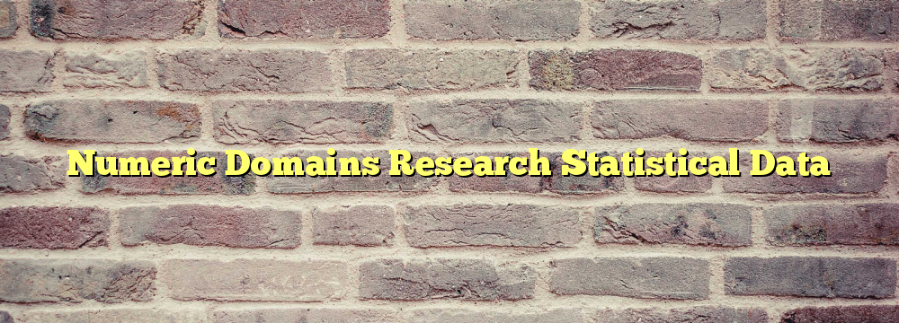 Numeric Domains Research Statistical Data